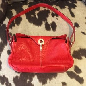 Kate Spade Classic Red Pebbled Leather Bag